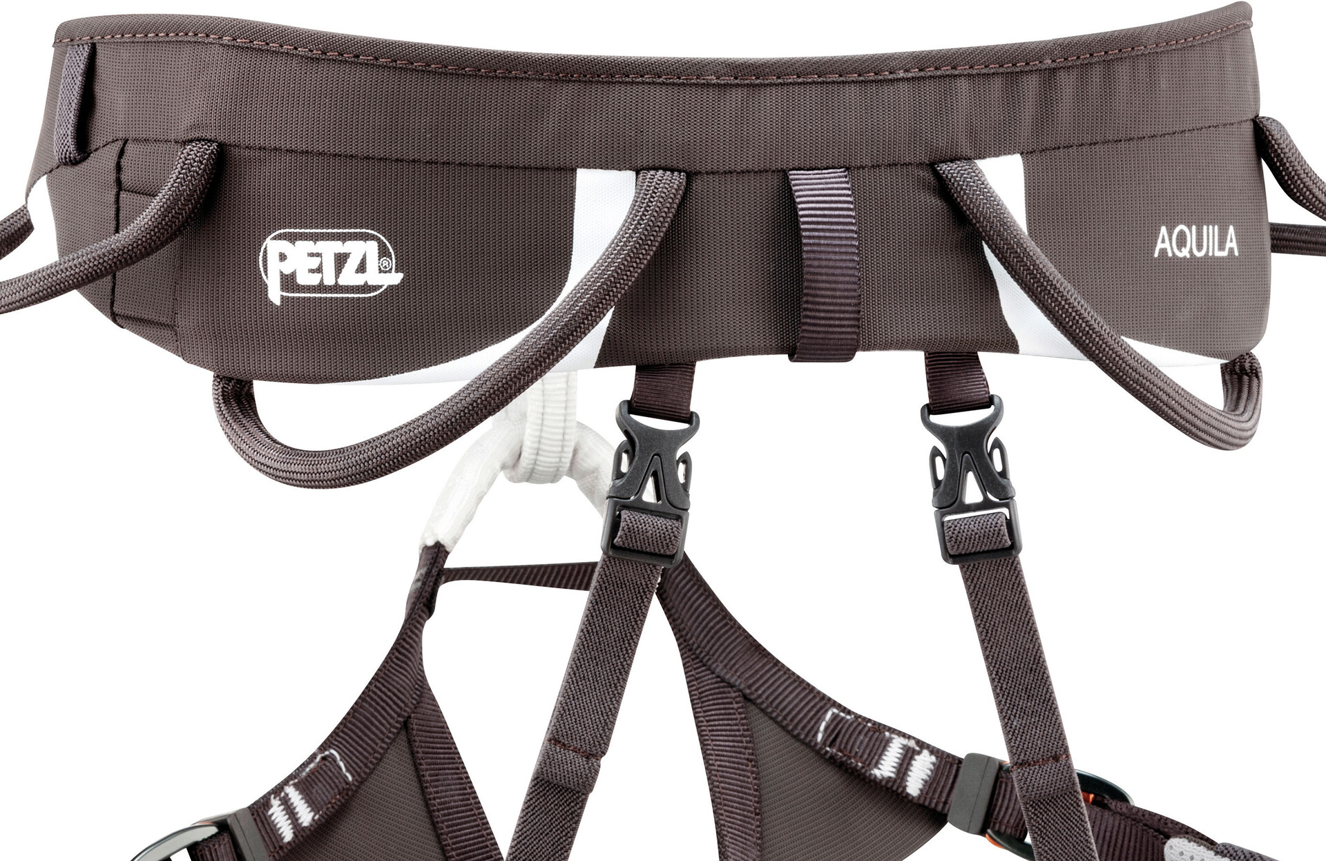 Ultra Light Klettergurt : Petzl aquila klettergurt grau campz at